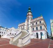 Zamosc, Poland. Historic buildings — Stockfoto
