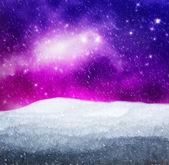 Magical winter landscape. — Stock Photo