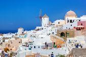 希腊圣托里尼岛伊亚镇. — 图库照片