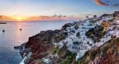 Oia town on Santorini island — Stock Photo