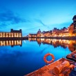 Gdansk, Poland old town — Stock Photo #58091827