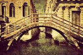 Venice, Italy vintage canvas. — Stock Photo