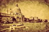 Basilica Santa Maria della Salute. — Stock Photo