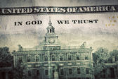 In God We Trust motto — Stock Photo