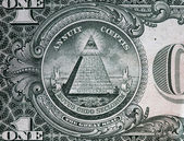 Annuit coeptis motto and the Eye of Providence. — Stock Photo
