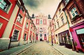 Baroque Collegiate Church in Poznan — Stock Photo