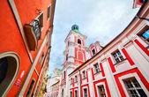 Jesuit College in Poznan — Stock Photo