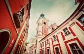 Jesuit College in Poznan,  Poland. — Stock Photo