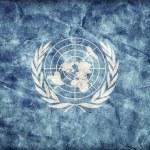 Grunge United Nations flag — Stock Photo #68400599