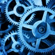 Grunge gear, cog wheels background. — Stock Photo #70907877