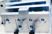 Heavy industrial elements, tools — Stock Photo