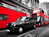 Symbols of London, the UK. — Stock Photo