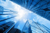 Modern business skyscrapers — Stock Photo