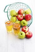 Apple juice — Stockfoto