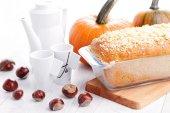 Pumpkin pie — Стоковое фото