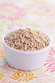 Bowl full of barley — Foto de Stock