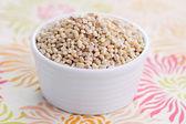 Bowl full of barley — Stock Photo