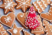 Lebkuchen weihnachtsgebäck — Stockfoto
