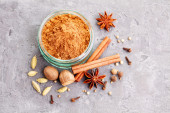 Homemade gingerbread spices — Foto de Stock