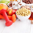 Bowl full of various cereals — Stock Photo #61706515