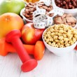 Bowl full of various cereals — Stock Photo #61706527