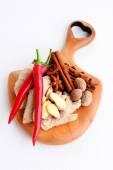 Aphrodisiac - herbs and spices — Stock Photo