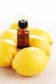 Lemon essence oil — Stock Photo