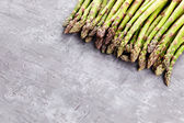 Green bunch of asparagus — Stock Photo