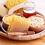 Honey and spa treatment — Stock Photo #76129221