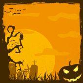 Abstract halloween background, vector — Vetorial Stock