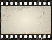 Grunge film frame, vector  — Stockvector