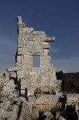 Dead city of Serjilla. Syria — Stock Photo