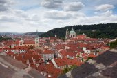 Prague. View from above. Czech Republic — Stock Photo