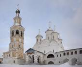 Spaso-Prilutsky monastery in winter. Vologda. Russia — Stock Photo