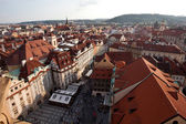 Prague - 6 july 2013. View of the Old part of Prague on july 2013 — Stock Photo