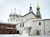 Vologda Kremlin, Russia, january 04, 2015 — Stock Photo