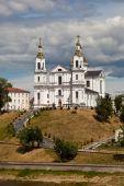 Assumption (Uspensky) Cathedral in Vitebsk. Belarus. — Stock Photo