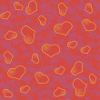 Abstract Valentine's day background with many red hearts — Stock Vector #60412505