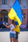 National flag day, Odessa — Stock Photo