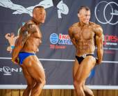 Participants in the category Men classic bodybuilding — ストック写真