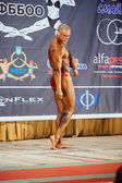 Participant in the category Men classic bodybuilding — Zdjęcie stockowe