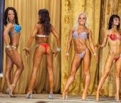 Participants in the category Women bikini — Stockfoto