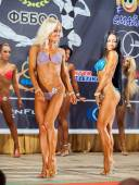 Participants in the category Women bikini — Stock Photo