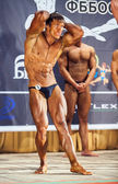 Participants in the category Men classic bodybuilding — Stock Photo