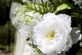 Bruiloft plaats decoratie — Stockfoto
