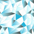 Icy low poly polygonal triangular icy abstract background. Vector illustration — Stock Vector #66175363
