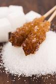 Difrent kind of sugar — Stock Photo