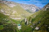 The canyon of Cavagrande — Stock Photo