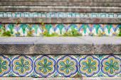 Ceramic tiles on the staircase — Stock Photo