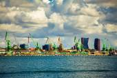 Port of Klaipeda — Stock Photo